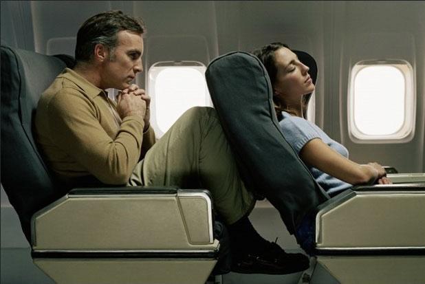 Scaun lasat in avion