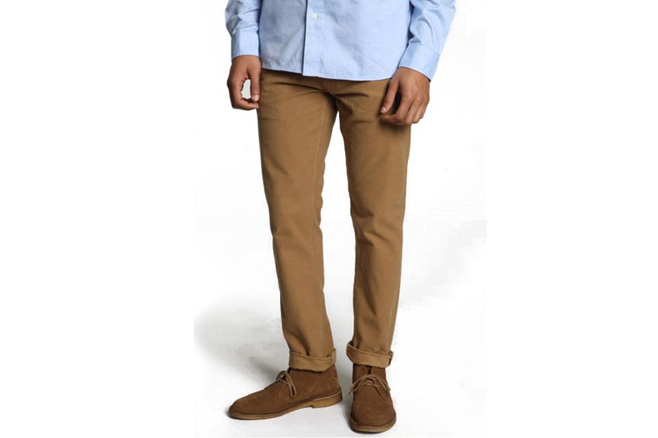 Pantaloni maron