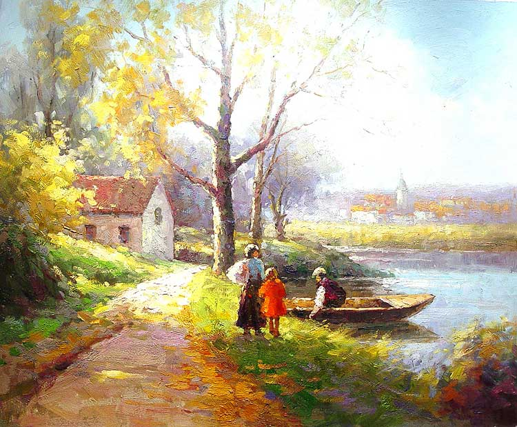 Natura reinvie prin pictura